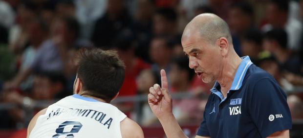 Sergio Hernández, entrenador de baloncesto de Argentina