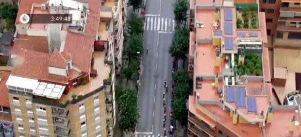 La retransmisión de La Vuelta