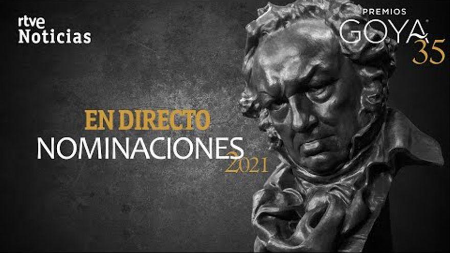 DIRECTO | Lectura de los nominados a los premios Goya 2021