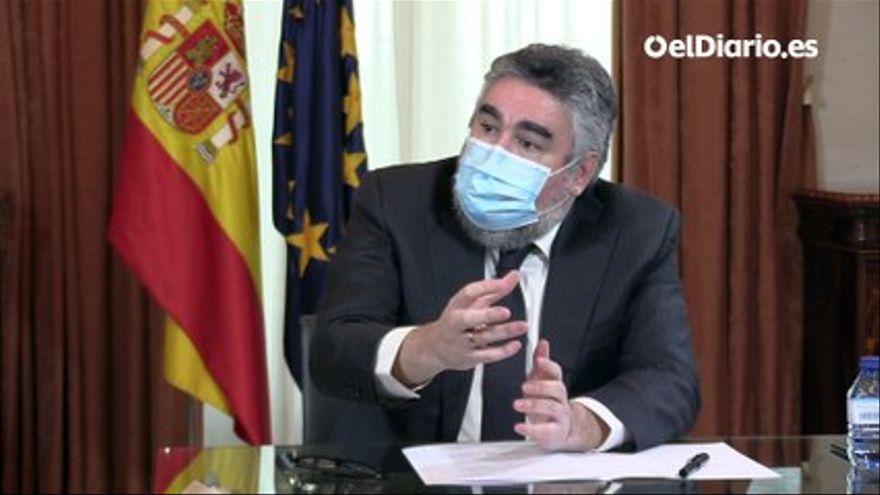 VÍDEO | Entrevista a José Manuel Rodríguez Uribes, ministro de Cultura y Deporte