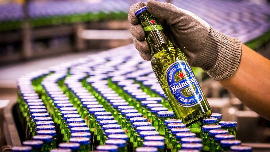 Heineken recortará alrededor de 8.000 empleos en todo el mundo y hará un ERE en España