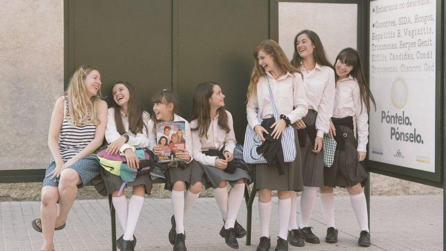 'Las niñas' se impone en unos Premios Goya tan fríos como una videollamada