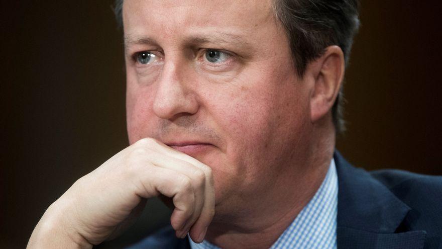 David Cameron, acusado de presionar al Gobierno británico para facilitar fondos a una empresa que quebró