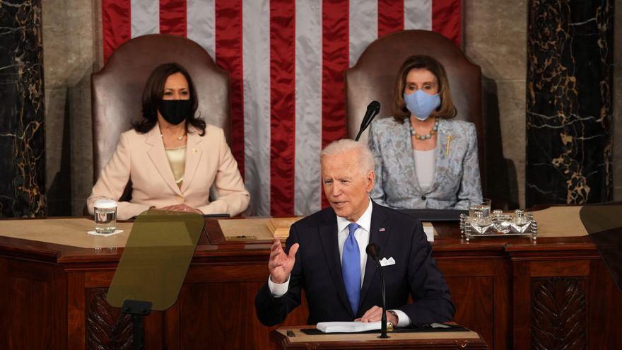 Biden defiende un ambicioso proyecto de Gobierno más social y con grandes inversiones tras cien días en el poder