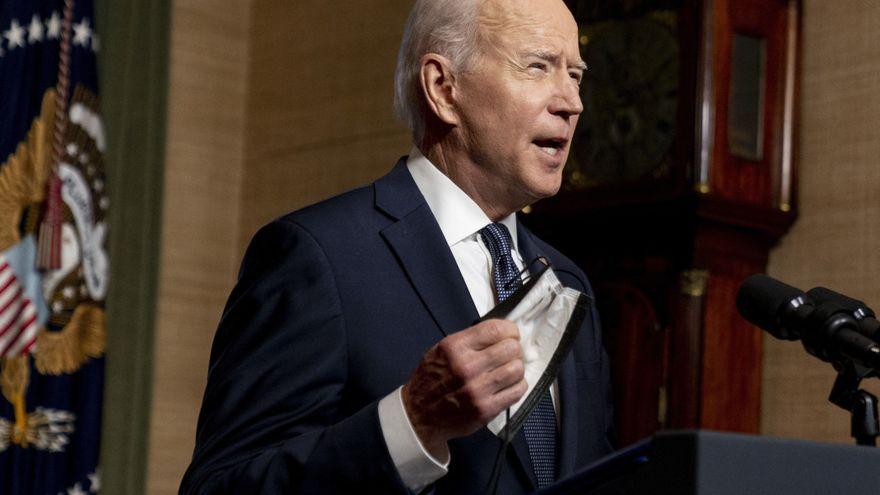 Biden impone nuevas sanciones a Rusia y expulsa a diez de sus diplomáticos de Estados Unidos