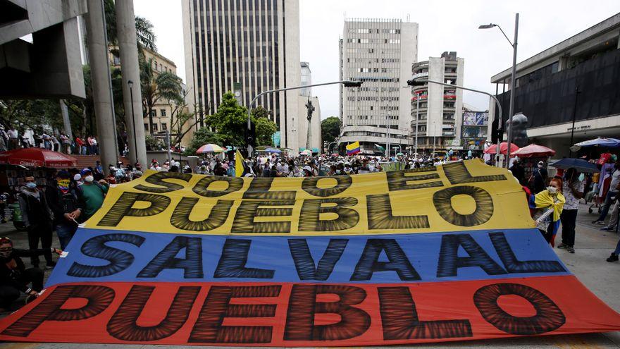Colombia prepara una nueva jornada de protestas en el Día de la Independecia