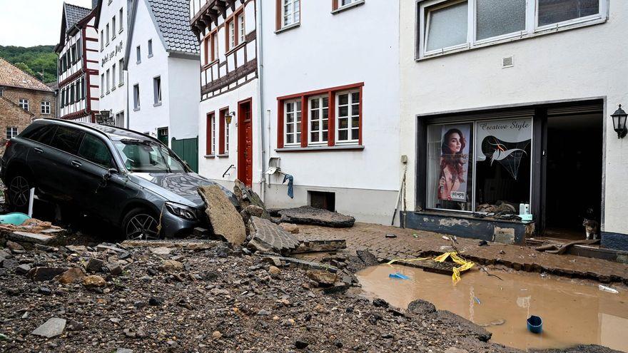 Más de 60 muertos y decenas de desaparecidos en las inundaciones en Alemania y Bélgica