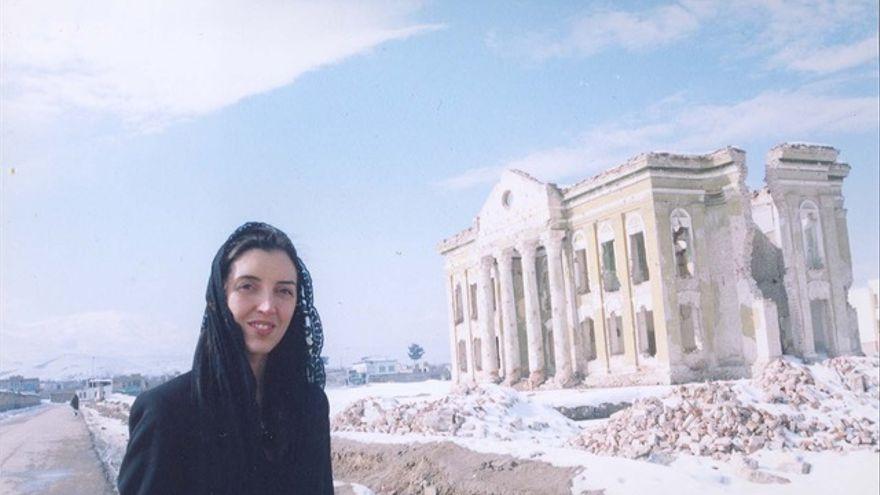 Ana Rodríguez, consultora del ministerio de Cultura de Afganistán: