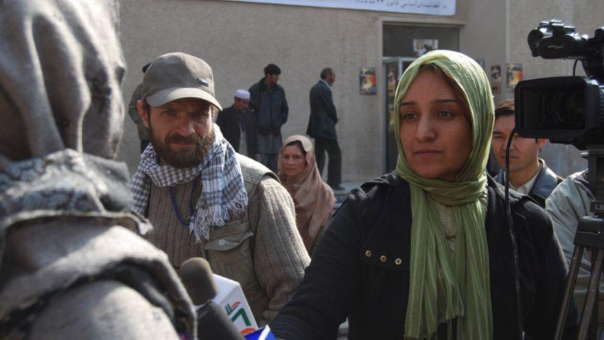 Shakila Ibrahimjil, periodista afgana: